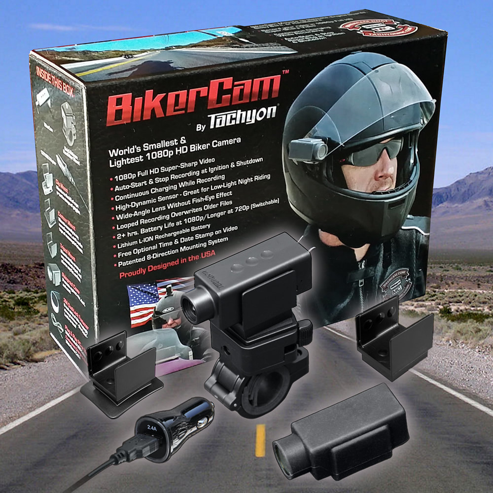 BikerCam, Biker Cam, Motorcycle Video, Tachyon